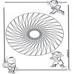 Disegni da colorare Mandala - Mandala bambini 20