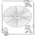 Disegni da colorare Mandala - Mandala bambini 22