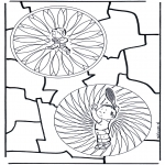 Disegni da colorare Mandala - Mandala bambini 25