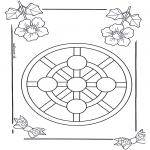 Disegni da colorare Mandala - Mandala bambini 3