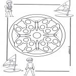 Disegni da colorare Mandala - Mandala bambini 4
