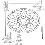 Disegni da colorare Mandala - Mandala bambini 5