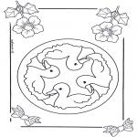 Disegni da colorare Mandala - Mandala bambini 6