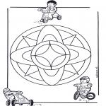 Disegni da colorare Mandala - Mandala bambini 7