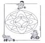 Mandala bambini 7