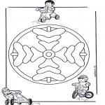 Disegni da colorare Mandala - Mandala bambini 8