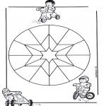 Disegni da colorare Mandala - Mandala bambini 9
