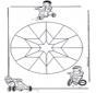 Mandala bambini 9