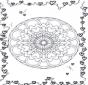 Mandala cuori 2