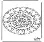 Mandala cuori 6