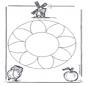 Mandala - fiori 1