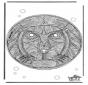 Mandala leone
