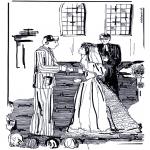 Disegni da colorare Temi - Matrimonio in chiesa