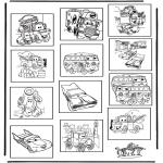 Lavori manuali - Memory Cars