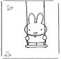 Miffy sullaltalena