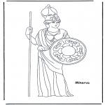 Disegni da colorare Vari temi - Minerva