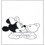 Personaggi di fumetti - Minnie da bebè