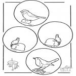 Lavori manuali - Mobile animali