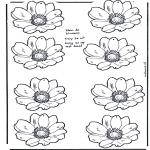 Lavori manuali - Mobile dei fiori