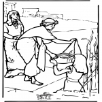 Disegni biblici da colorare - Mosè 2