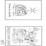 Disegni da colorare Natale - Natale e Capodanno