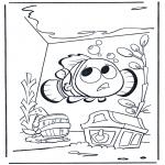 Disegni per i piccini - Nemo 1