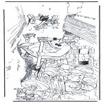 Personaggi di fumetti - Obelix, Idefix, Asterix