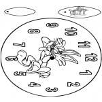 Lavori manuali - Orologio - Bugs Bunny