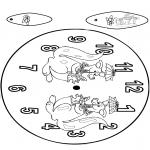 Lavori manuali - Orologio canguro