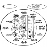 Lavori manuali - Orologio - Cars