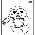 Disegni da colorare Animali - Panda 1