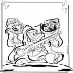 Personaggi di fumetti - Paperino 1