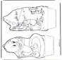 Paperino - Disegno da bucherellare 5