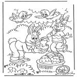 Disegni da colorare Temi - Pasqua 1
