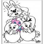 Disegni da colorare Temi - Pasqua 10