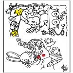 Disegni da colorare Temi - Pasqua 12