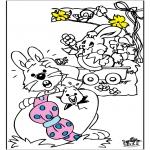 Disegni da colorare Temi - Pasqua 13
