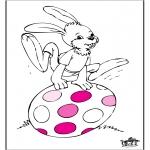 Disegni da colorare Temi - Pasqua 5