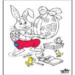 Disegni da colorare Temi - Pasqua 6