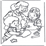 Disegni per i piccini - Pasticceria