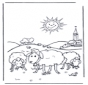 Pecore al sole