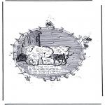 Disegni da colorare Animali - Pecore