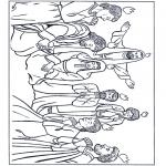 Disegni biblici da colorare - Pentecoste 1