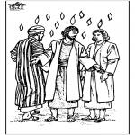 Disegni biblici da colorare - Pentecoste 3