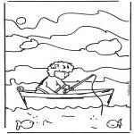 Disegni da colorare Vari temi - Pesca 2