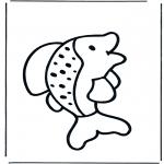 Disegni da colorare Animali - Pesce 1