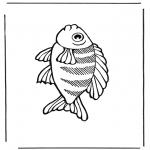 Disegni da colorare Animali - Pesce 2