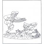 Personaggi di fumetti - Pinocchio balla