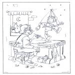Disegni da colorare Vari temi - Pinocchio