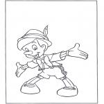 Personaggi di fumetti - Pinocchio